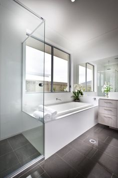 32 Bathrooms With Dark Floors Part 37