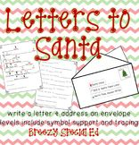 Letter To Santa Symbol Support Tracing And More For Special