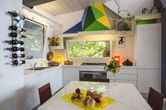 la zona cucina : Cocinas de estilo moderno de RoccAtelier Associati