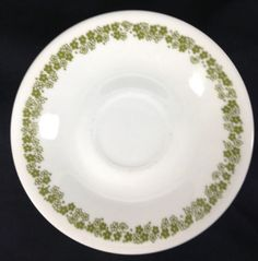 Corning Corelle Crazy Daisy Spring Blossom Saucer Lot 3