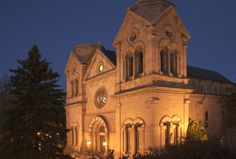 nm Drive in Restaurants | Cathedral Basilica of St. Francis of Assisi Santa Fe New Mexico USA