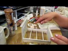 Dressing my dollhouse bed - YouTube