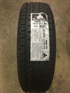 Hercules Power STR Trailer Tires, Hercules, Tired