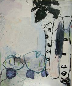 Jette Segnitz. Danish contemporary artist. Abstract paintings. Mixed Media on Canvas. www.segnitz.dk