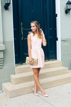 sequin back party dress — via @TheFoxandShe