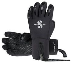 Here's a no-nonsense 5mm, five-finger, semi-dry glove for cold-water diving. Called the G-FLEX EXTREME, this new glove features a contoured shape, a zipper entry and a double seal for optimal water-blocking capability. The textured palm provides a non-slip grip while maintaining maximum...