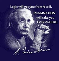 Logic will get you from a - b ... IMAGINATION TAKES YOU EVERYWHERE...  it helps to have a bike, tho ;)   www.roadbikeoc.com  #bikes #health #roadbikeoc #california #fitness #inspiration