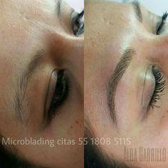 Microblading ceja pelo a pelo en Virago Beauty Studio www.facebook.com/ViragoBeautyStudio