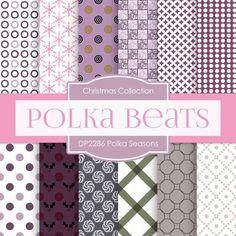 Polka Seasons Digital Paper DP2286