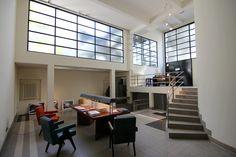 Atelier conçu par Mallet-Stevens (au 10 rue Mallet-Stevens 75016) . Photo : Les Jolis Mondes