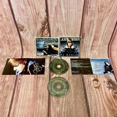 Justin Bieber My Worlds The Collection CD RUVG Two Cds 31 tracks music songs Justin Bieber My World, Cds For Sale, Music Songs, Ebay, Collection