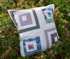 Cushions, Magical Lands Quilted Cushion by Stitch 'n' Bits