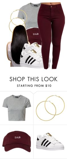 """""""4/17/16"""" by lookatimani ❤ liked on Polyvore featuring New Look, Melissa Odabash and adidas"""