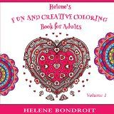 Free Kindle Book -  [Crafts & Hobbies & Home][Free] Helene's Fun and Creative Coloring Book for Adults: Volume 1 (Helene's Fun and Creative Book for Adults)