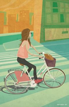 #Bicicleta #Ilustração #avidaearte