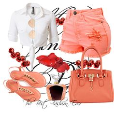 A fashion look from June 2014 featuring stretch shorts, bamboo sandals and handbag purse. Browse and shop related looks. Shoe Bag, Polyvore, Shoes, Collection, Shopping, Design, Women, Fashion, Moda
