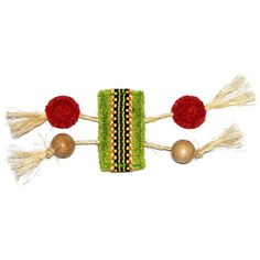 EcoLoofah Ethnic Maka Talisman Stretch Cat Toy Light Green -- Be sure to check out this awesome product.