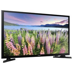 """With the Smart LED TV, """"Smart"""" is only the beginning. Navigate effortlessly through the Samsung Smart TV to find your favorite shows, movies, sports and. Hd Samsung, Samsung Smart Tv, Gadget, Smart Televisions, Tv Led, Led Tvs, Tv Built In, Lcd Television, Products"""