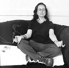 janeane garofalo - smoking and meditating should go together!