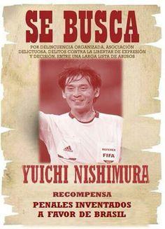 Brasil 2014:El arbitraje de Yuichi Nishimura en el partido inaugural del Mundial de Brasil.