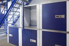 Self Storage inrichting - Vogelsang Magazijntechniek - Entresolvloeren, Self Storage, Magazijnstellingen