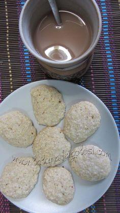 Biscotti alla crusca d'avena con yogurt