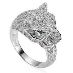 moda prata esterlina 925 anel de zircônia cúbica de 2016 por €40.17