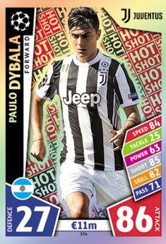 Football Cards, Football Players, Baseball Cards, Juventus Fc, Hot Shots, Trading Card Database, Uefa Champions League, Fifa, Trading Cards