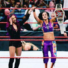 Sasha Banks and Bayley