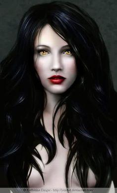 I'm thinking vampire seductress.