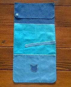 Porta aghi maglia feltro pannolenci