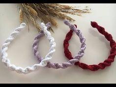 Macrame Wall Hanging Diy, Macrame Art, Macrame Design, Macrame Projects, Macrame Knots, Macrame Headband, Diy Macrame Earrings, Diy Bow, Diy Ribbon