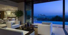 13 Million Modern Bachelor Pad Overlooking Los Angeles Skyline (23)
