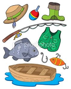 Camper kid clipart welcome to the camping kids for Free fishing stuff