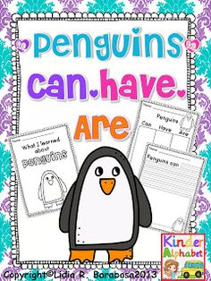 Freebielicious: Three FREE Penguin Packet Printables for Reading and Math