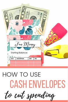 Are you ready to save money using cash envelopes? The cash envelope system is perfect if you're looking to cut your spending and live frugally! #cashenvelopesystem #daveramsey #howtousecashenvelopes