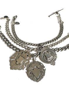 Vintage chunky Silver Bracelets  by FribblePistol