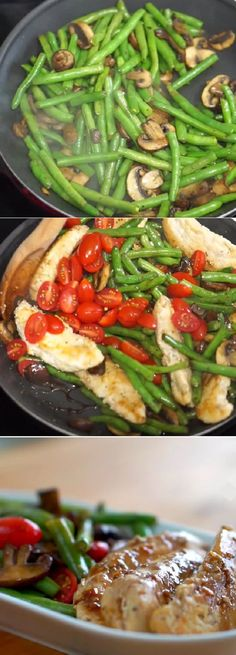Delicious One Pan Balsamic Chicken ! yous must try this delicious recipe!