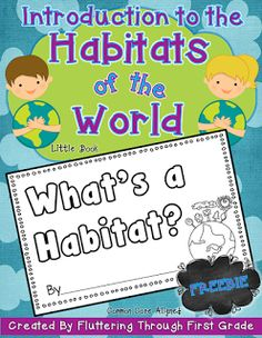 Habitats of the World introduction little book