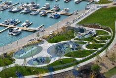 Winning Waterfront - Design + Planning - AECOM - A global provider of architecture, design, engineering, and construction services Urban Landscape, Landscape Photos, Landscape Design, Commercial Landscaping, Modern Landscaping, Space Architecture, Architecture Details, Geotechnical Engineering, Plaza Design