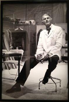 Hubert de Givenchy    #artist  #artistatwork  #studio