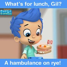 Bubble Guppies Full Episodes, Games, Videos on Nick Jr. Bubble Guppies Birthday, Whats For Lunch, Nick Jr, Jokes Quotes, Cartoon Kids, Bubbles, Entertaining, Humor, Rye