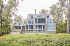 Outdoor Living Palmetto Bluff | Screened Back Porch | Screened Balcony | Spacious Backyard | Luxury Real Estate South Carolina