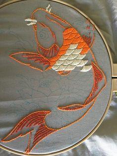 embroidery \ embroidery _ embroidery patterns _ embroidery inspiration _ embroidery designs _ embroidery for beginners _ embroidery stitches _ embroidery flowers _ embroidery hoop art Embroidery Online, Simple Embroidery, Embroidery Patterns Free, Hand Embroidery Stitches, Modern Embroidery, Crewel Embroidery, Embroidery Hoop Art, Hand Embroidery Designs, Embroidery Techniques