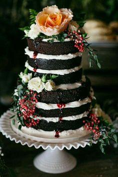 Sommernachtstraum, Kuchen Buffet, Backen, Schwarze Hochzeitstorten,  Erstaunliche Hochzeitstorten, Torte Hochzeit, Hochzeit Torte Figuren, ...