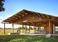 Solar-powered Josey Pavilion beats wicked hot summers in Texas without air-conditioning