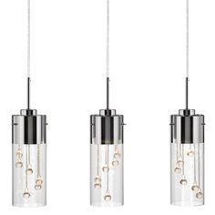 Buy the Elan 83163 Chrome Direct. Shop for the Elan 83163 Chrome Shayla Linear Pendant and save. Kitchen Pendant Lighting, Glass Pendant Light, Glass Pendants, Island Pendants, Pendant Lights, Bathroom Lighting, Direct Lighting, Shop Lighting, Lighting Ideas