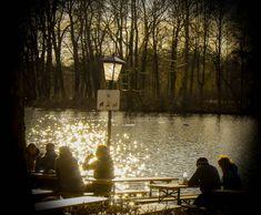 Spring time at Seehaus Biergarden in #Munich es wird Frühling im Seehaus Biergarten in #München
