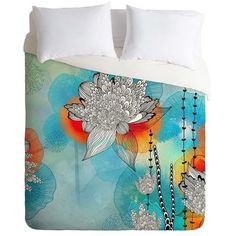 Found it at Wayfair - Coral Duvet Cover