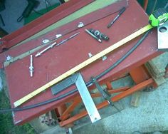 Picture of Bender Truss Sheet Metal Bender, Sheet Metal Brake, Ring Roller, Stud Bolt, Six Sides, Stainless Steel Rod, Round Bar
